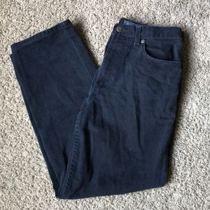 Eddie Bauer Relaxed Fit Black Jeans